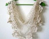 Shawl, crochet, scarf, wrap,beige gold metallic, hand made, sooooooo beautiful, new