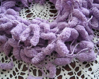 New  scarf, hand made, lavender/lilac