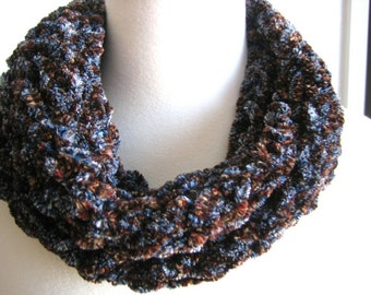 Super soft, rich, hand knitted scarf, new, warm ,winter fashion, perfect for valentine day
