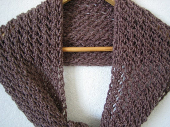 Taupe, Hand Knitted Scarf,chunky, soft, New,Holiday Accessories,  free shipping in the US