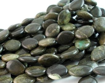 Full Strand Apple Stone 20x15 Mm Marquise Gemstone Beads Ap-12 G68