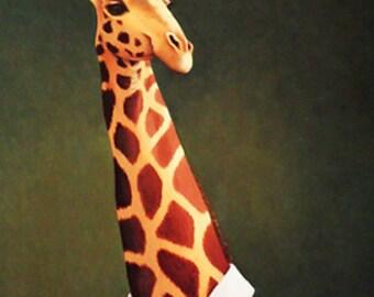 Giraffe note card 3 pack