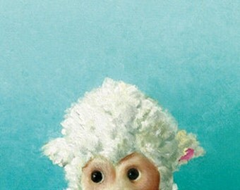 Little Lamb note card 3 pack