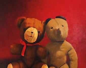 Married Bears note card 3 pack