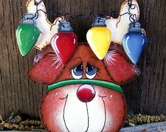 Rudolph with Lights Ornament