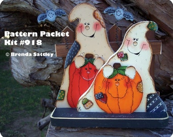 E-PATTERN Kit 918 - Happy Haunting Ghosts
