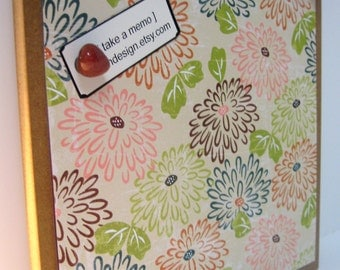 MUMS ..Magnetic Dry Erase Steel Dry Erase Board / housewarming gift / home office organizer / friend / home art decor / wall hanging / desk