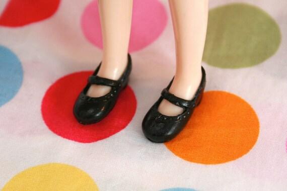 Middie Blythe Black Sweet Mary Jane shoes