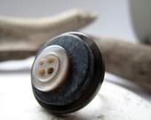 Italian Vintage Button Ring