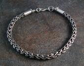 Unisex Two-Way Loop-in-Loop Chain bracelet