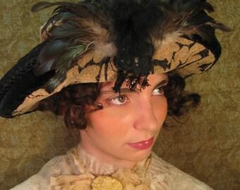 La Belle Epoch Tapestry Hat