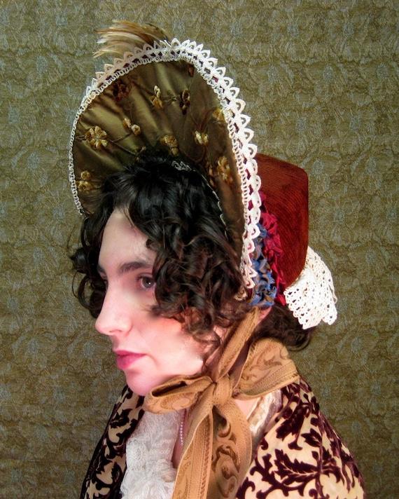 High Brimmed Victorian Bonnet