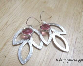 Blushing Leaves Earrings