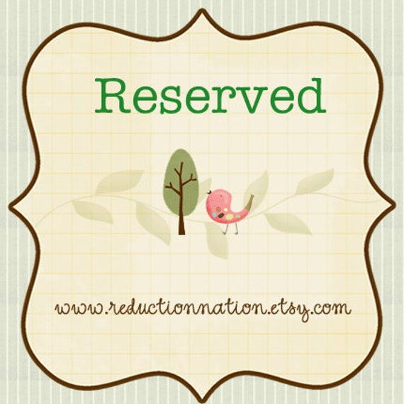 Reserved for shopgraciemack