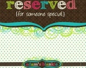 RESERVED Crayon Roll PDF and Fabric Kit