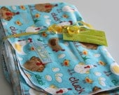 LARGE Receiving / Swaddle Blanket - Single Layer Flannel