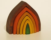 Wooden Stacking Earth Element