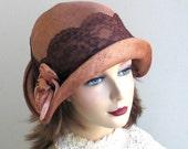 Straw Cloche Hat- Women- Spring Fashion