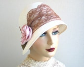 Cloche Hat- Women- Spring Fashion - KatarinaHats