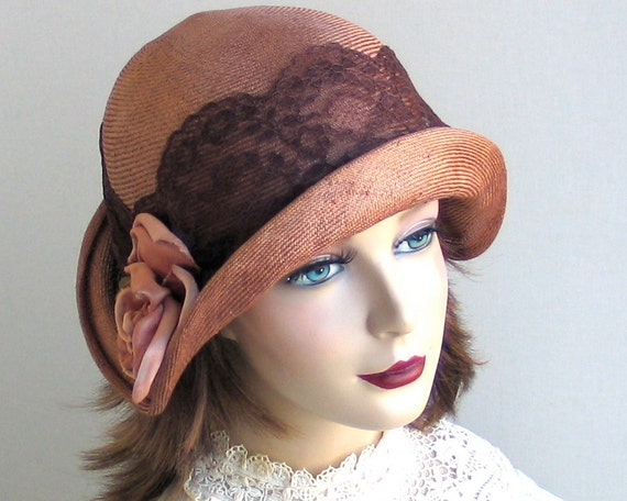 Straw Cloche Hat- Women- Spring Fashion