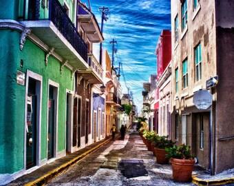 Old San Juan - Fine Art Print - HDR print - Digital Art