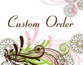 Custom listing for the fabulous Stacey