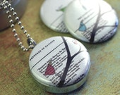 Little Birds Recycled Magnetic Locket Set -- Collaboration with Polarity