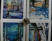 Lake Tahoe Christmas cards , box of 8 (5x7 cards)