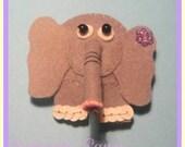 Felt Brooch Elephant