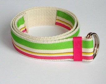 Baby/Toddler/Girl's Belt- Sherbert