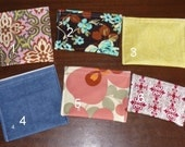 Reusable snack bags(set of 3)