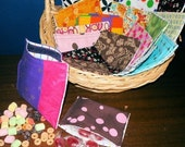 Reusable snack bags(set of 6)