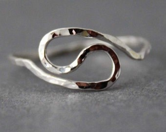 Sterling Ring - Yin Yang - Made to order - READ item details BEFORE buying
