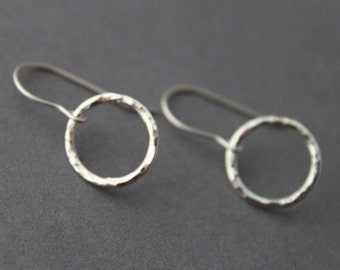 Sterling Silver Earrings - Circles