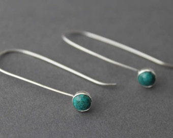 Sterling and Turquoise Earrings - Writers Block