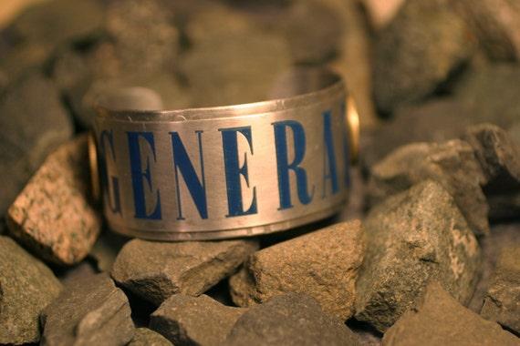 General - Riveted Vintage Metal Cuff