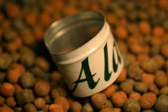 Alabama license plate cuff in green