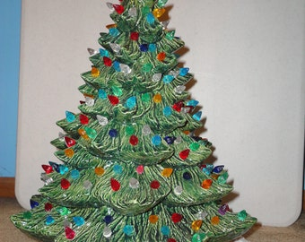 "New Ceramic Christmas Tree 19"" Tall"