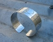 Sterling Silver -  Haywire Cuff. Adjustable, OOAK, ON SALE