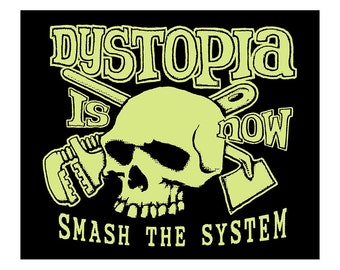 Dystopia Now T SHIRT - Last One Size Medium