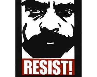 Zapata Resist Sticker