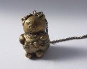 Ms. Goldie Pig Locket
