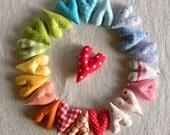 A bunch of rainbow love