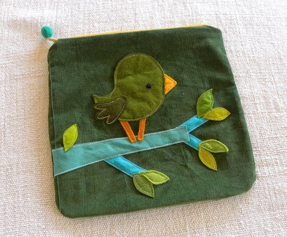 Moss tweety pouch  AS
