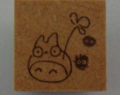 Studio Ghibli My Neighbour Totoro With Dust Mites Japanese Rubber Stamp