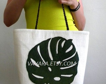 Tropical Escape tote bag