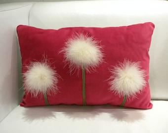 Dandelions pillow case