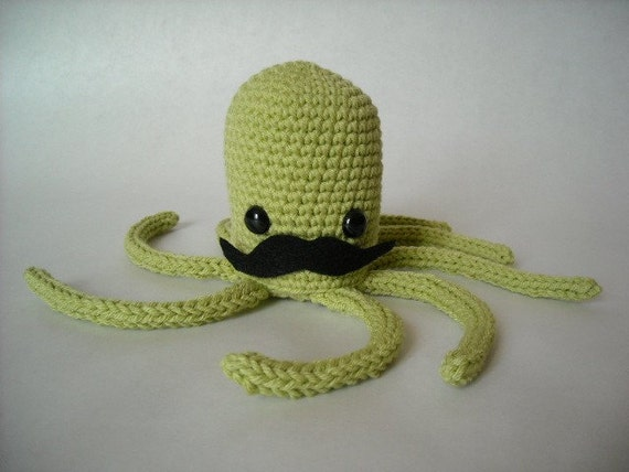 Octopus with Mustache