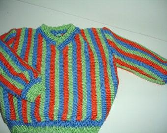 Custom knitted Bert sweater for Teens