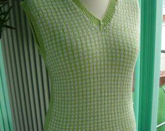 Twilight inspired green vest - Custom work